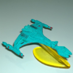 1994  Micro Machines Star Trek  Klingon Vor'Cha @sold@